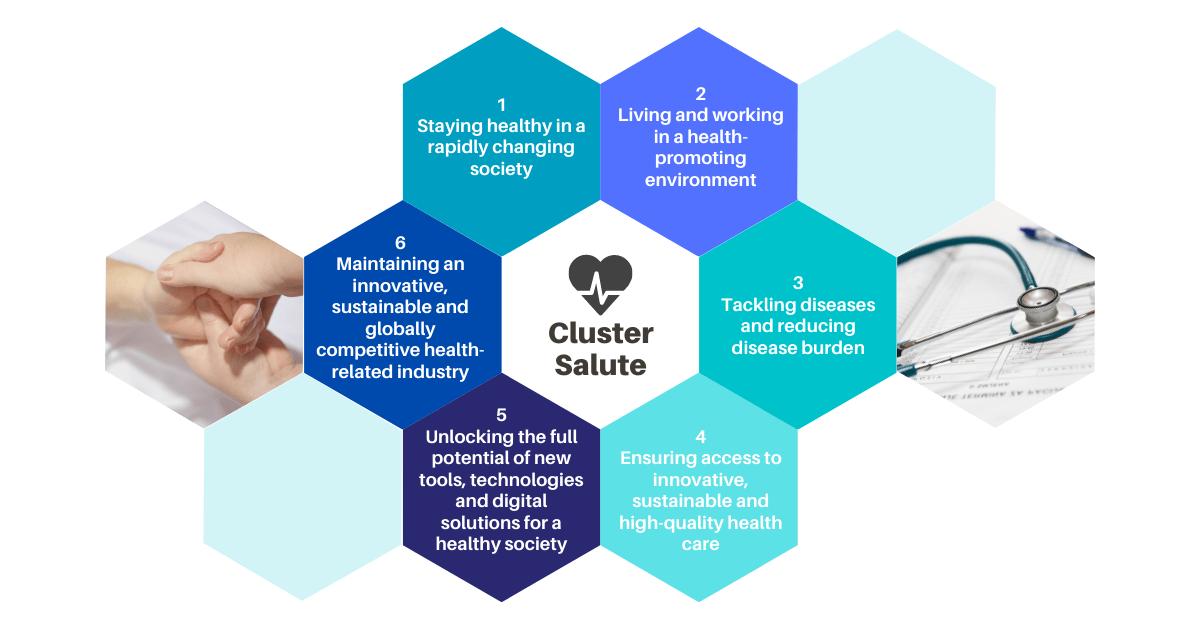 Cluster Salute Destinations